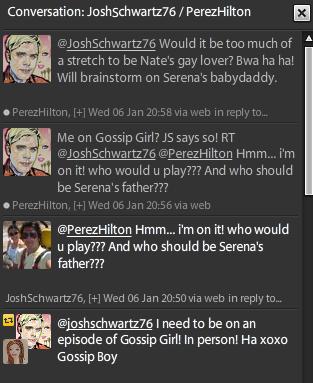Gossip boy Josh Schwartz joins Twitter   Getting Lippy
